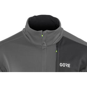 GORE WEAR C5 Windstopper Thermo Trail Jacket Men terra grey/black